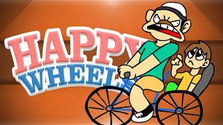 Happy Wheels! - Danger Zone, Killing My Friends, Saving My Wife, Super Mario!