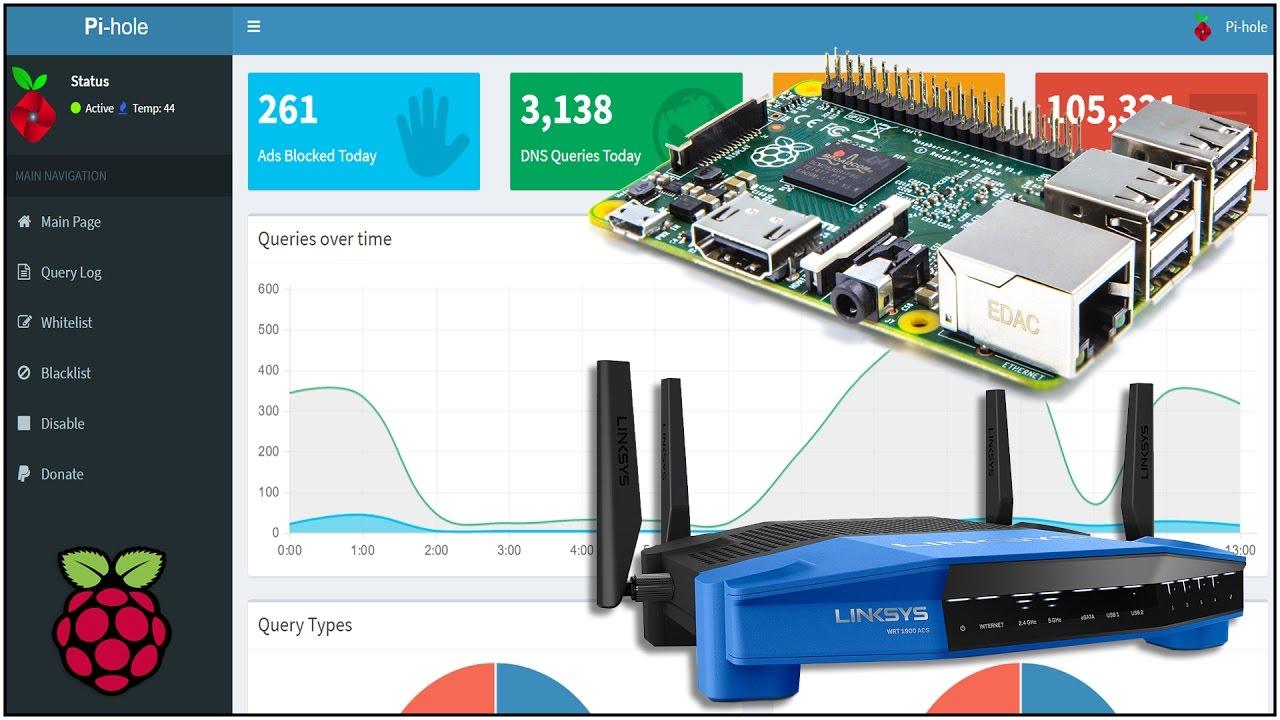 Raspberry Pi Pi-Hole setup plus Router setup guide