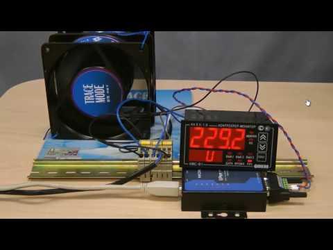 Подключение контроллера-монитора электросети