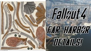 FALLOUT 4 Far Harbor Info Found In Files! - Octopus Enemy, Underwater Exploration, & Ghoul Yao Guai!