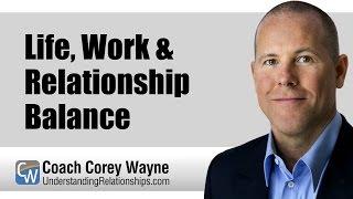 Life, Work & Relationship Balance