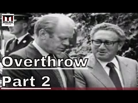 American Imperialism - Iran, Vietnam, Chile: Stephen Kinzer on Overthrow Part 2