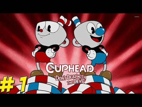 CUPHEAD! Co-Op All the Way Through! Part 1 - YoVideogames