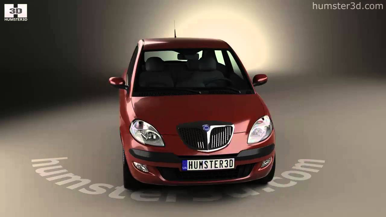 Lancia ypsilon 2003 3d model by humster3d youtube lancia ypsilon 2003 3d model by humster3d vanachro Images