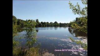 205176 vente propriété vendée 5 hectares, zone loisir, maison caractère, dépendances, étang, ...