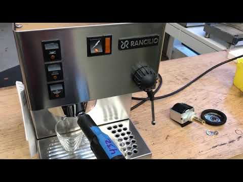 No Water Coming Out Of Rancilio Silvia, Test After Pump Replacement #1432