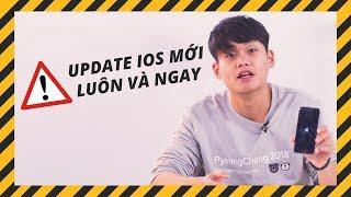 HÃY UPDATE LÊN iOS 11.2.6 LUÔN VÀ NGAY!!!!