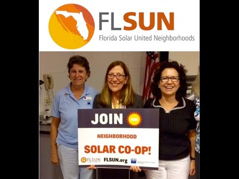 All About FL SUN Solar Power Co-ops Webinar, 2017 04 26