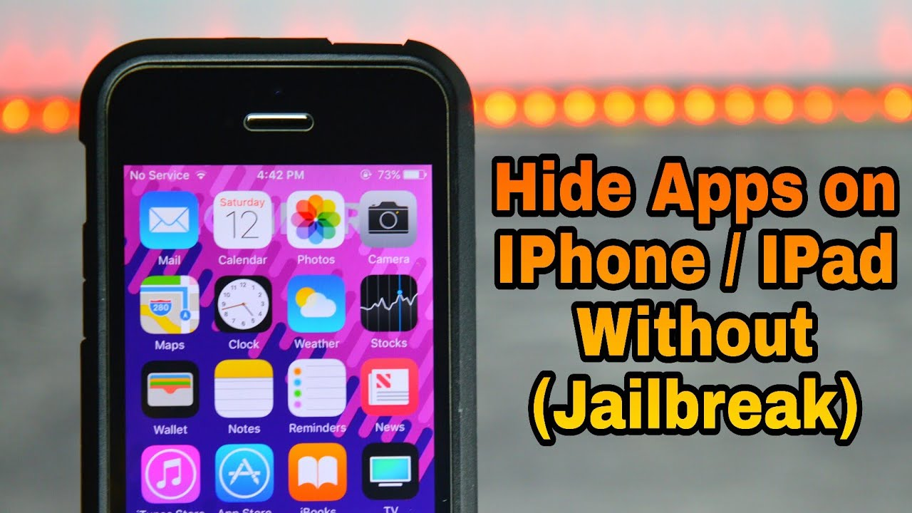 How to Hide Apps and Games on iPhone or iPad (No Jailbreak)