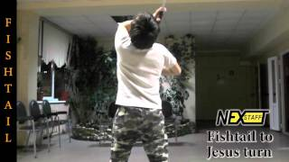 Фаер-шоу. Уроки Шест #61 (Contact staff) стиль FISHTAIL - Fishtail to Jesus