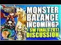 SUMMONERS WAR : Monster Balancing Incoming? + SW Finals 2017 Discussion