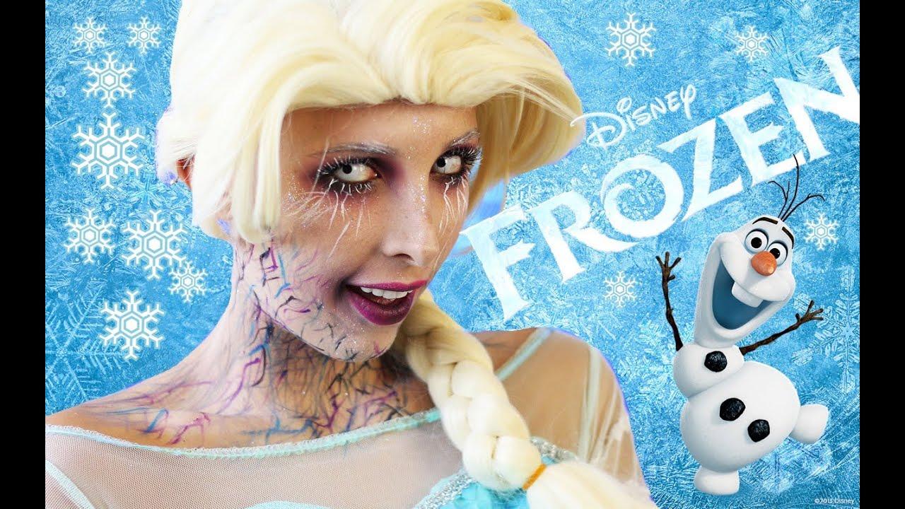 Elsa Frozen Para Halloween Mariale Youtube
