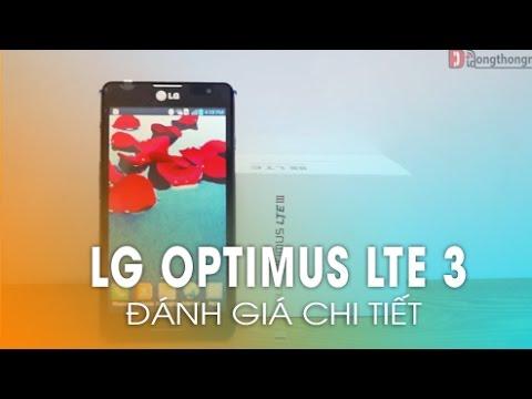 Phần 2: Đánh giá chi tiết thiết kế của LG Optimus LTE 3