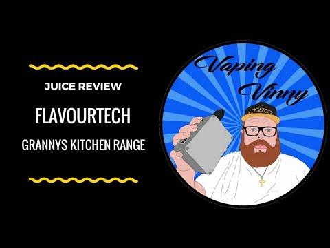Flavourtech Granny's Kitchen juice - Trifle Review
