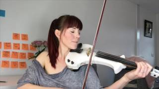 Alexandra - Electric Violin Cover - Can't Help Falling In love - Elvis Presley