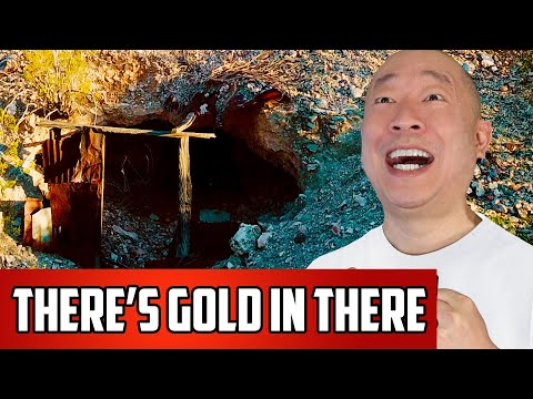Why Was This Gold Mine Abandoned In This Ghost Town Outside Of Las Vegas?