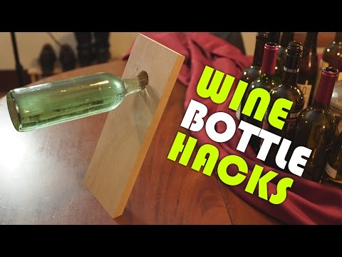 How To Turn a Wine Bottle Into 6 Incredibly Useful Things