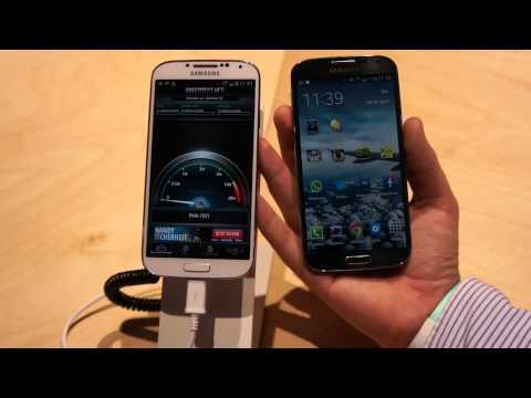 Samsung Galaxy S4 LTE Plus GT-I9506 vs. Galaxy S4 GT-I9505 Vergleich deutsch
