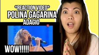 POLINA GAGARINA - Adagio || REACTION VIDEO