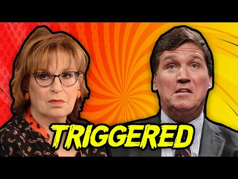 TRIGGERED: The View Host Threatens Fox News' Tucker Carlson