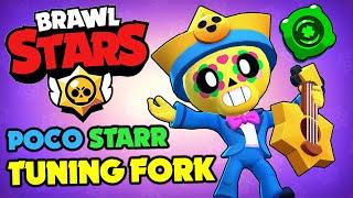 Brawl Stars - NEW Poco Starr Skin & Tuning Fork Gadge!!
