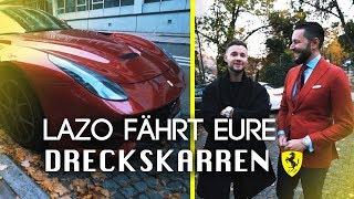 Der Ferrari F12 | Lazo fährt eure Dreckskarren | inscopelifestyle