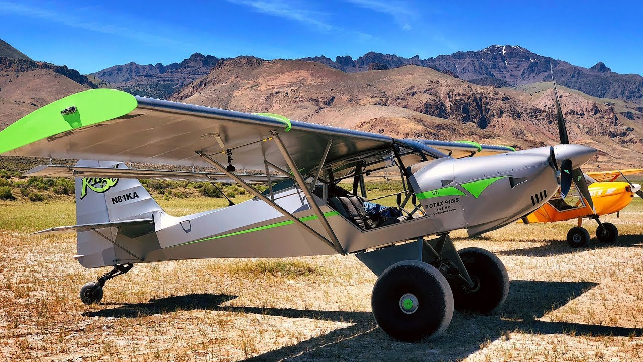 This Kitfox is a BEAST! - Rotax 915iS 141hp Turbocharged Fuel Injected  Monster