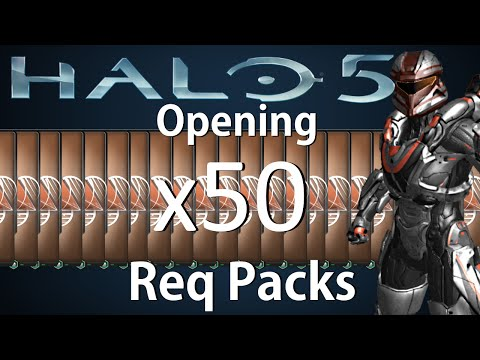 Halo 5: Opening 50 Bronze Req Packs