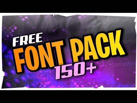 Download The Best FREE Font Pack (150+) | MediaFire Download - YouTube