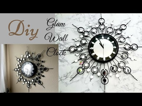 Diy Decorative Wall Clock!| Wall Decorating idea!