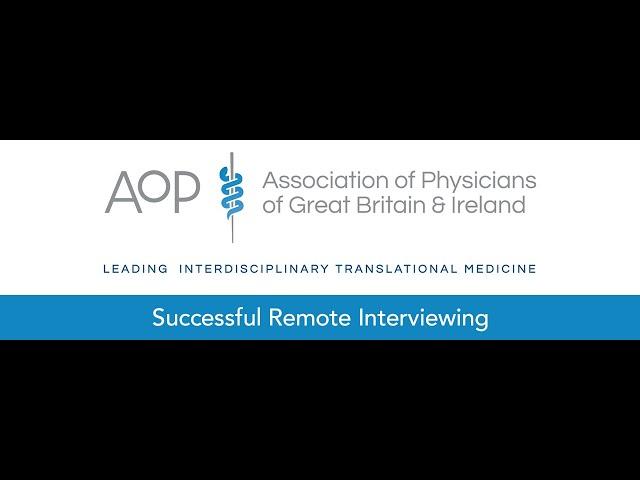 Successful Remote Interviewing