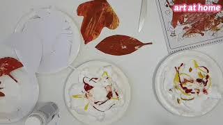 가을나무만들기-가을낙엽/가을표현놀이