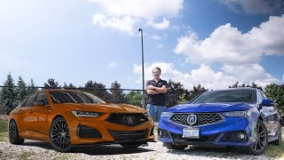 2021 Acura TLX vs 2020 Acura TLX A Spec | Should You Wait For The New TLX? Old vs New