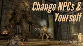 Skyrim PS4 Mods: Shrink, Enlarge, & Transform Characters/NPC