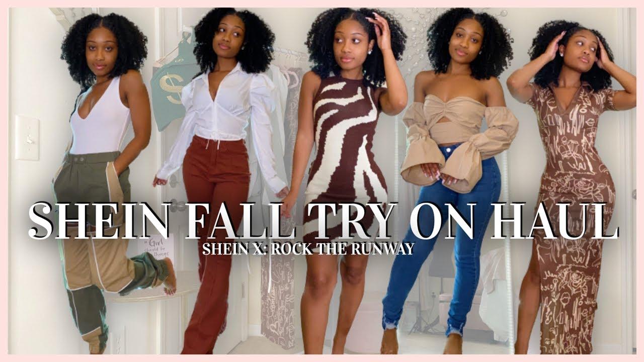 Download SHEIN Fall Try On Haul   SHEIN X: Rock The Runway   OKae Kaela