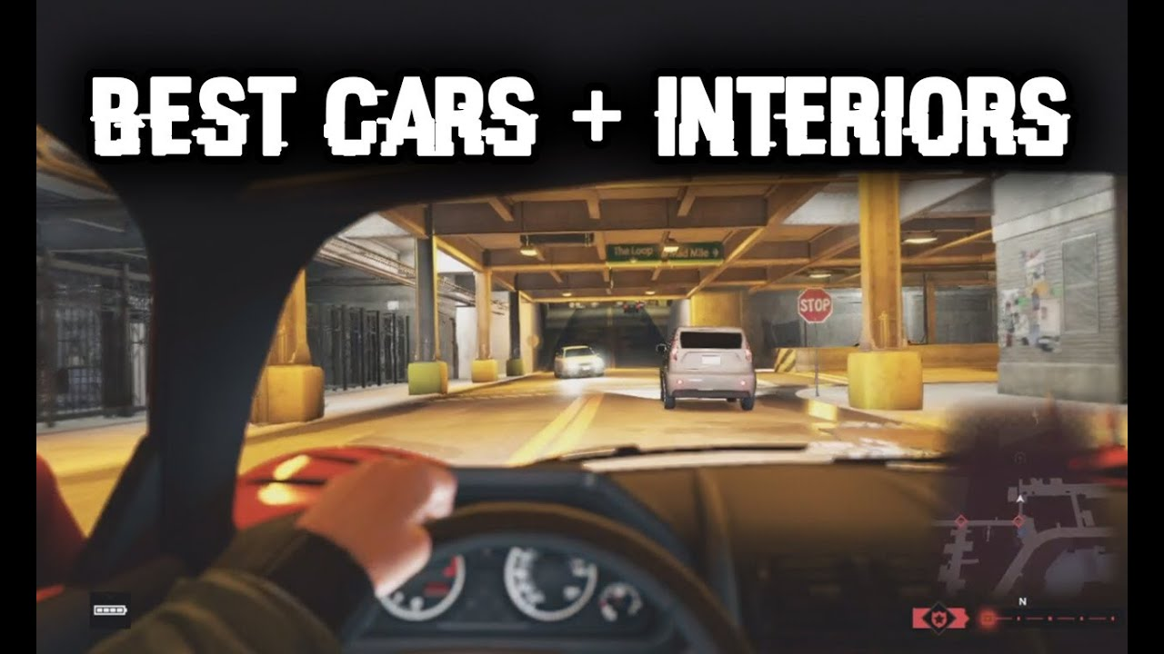 watch dogs best cars interiors and 1st person cockpit view gameplay boats motorcycles youtube. Black Bedroom Furniture Sets. Home Design Ideas