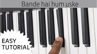 Bande Hain Hum Uske Piano, Slow simple