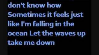 Blue October-Into The Ocean(with lyrics)