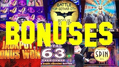 A Collection of Slot Machine Bonus Rounds and Huge Wins Vol. 1