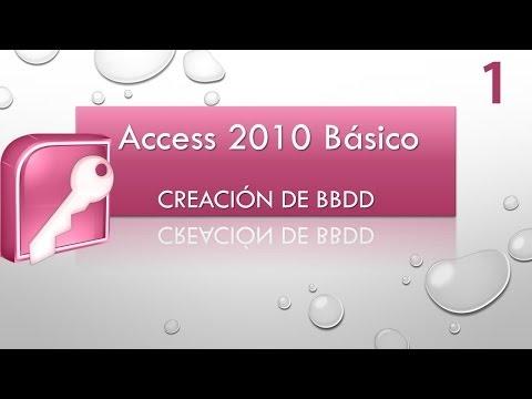 Curso Access Básico 2010. Creación de BBDD. Vídeo 1.mp4