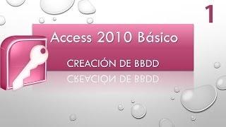 Introducción a Access 2010. Creación de BBDD. Creación de tablas. E...