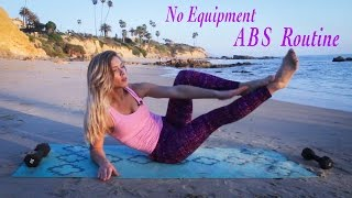 No Equipment HIIT Abs Workout - Flat Abs Fitness
