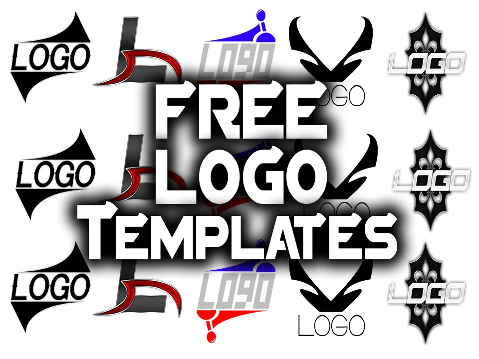 Free Logo Templates For Photoshop - YouTube