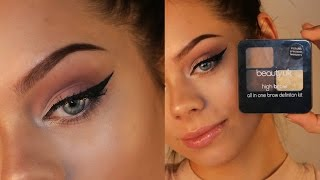 PERFECT BROWS / BEAUTY ON A BUDGET(Time for another Beauty On a Budget tutorial! This time I show you how to get the perfect brows, for less with the Beauty UK Brow Definition Kit. :) Get it here: ..., 2015-11-22T20:05:31.000Z)