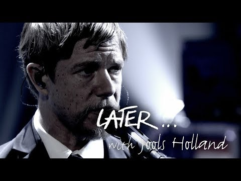 Interpol return with The Rover on Later... with Jools Holland