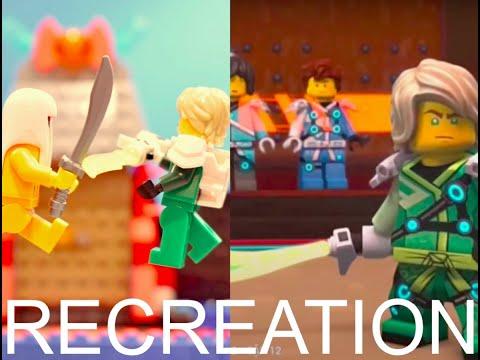 Lloyd vs Avatar Harumi- Stopmotion Recreation