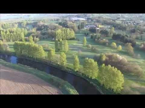 Hot Air Balloon Flight Northern Ireland 19 April 2014