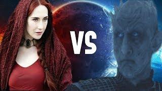 Melisandre y El Rey de la Noche en la Temporada 8 - Game Of Thrones