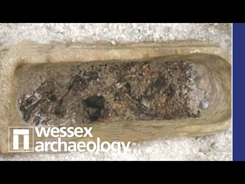 Recovering a Roman Coffin