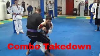 Combo takedown technique - Emerson Souza - Long Island Brazilian Jiu Jitsu and MMA